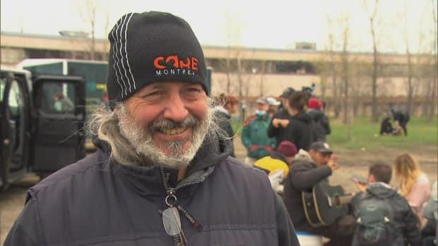 Michel Monette, director of CARE Montreal, said he doesn't agree with evicting people and tearing down the camp.