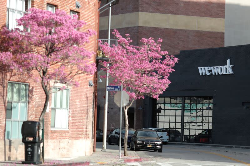 WeWork reports slower cash burn in first quarter: CFO email