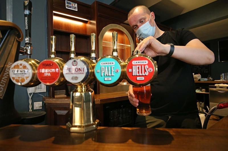 The nation will be allowed to return to the pub on July 4: PA