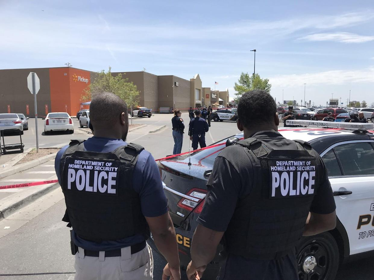 After a shooting in El Paso, Texas, on Aug. 3, 2019.