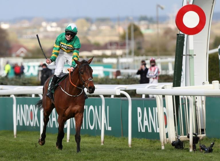 History-maker: Rachael Blackmore rides Minella Times to win the Grand National