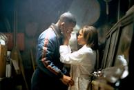<p>That same year, she also played Cecily Banks in the action flick <em>Mighty Joe Young</em> and Carla Dean in the thriller <em>Enemy of the State</em>, opposite Will Smith.</p>