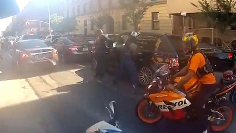 NYPD Cop Charged in Motorcycle Attack on SUV