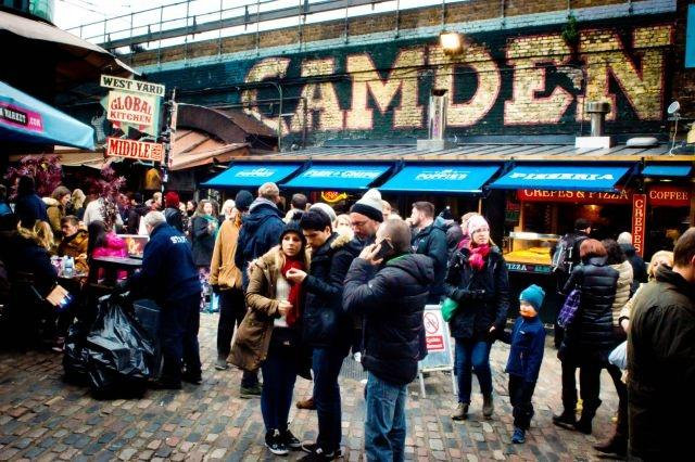 Brexit windfall: London's tourists cheer cheap pound