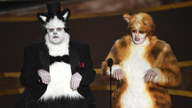 Miaow: Visual Effects Society has claws out for Oscars over 'demeaning' Cats dig