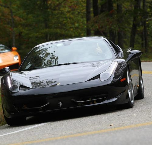 drive a Ferrari through Park City