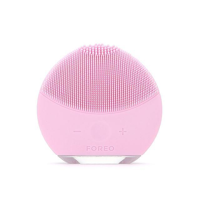 """<p>You've never felt a truly clean face until you use this exfoliating silicone facial brush from Foreo. ($138.97; <a href=""""https://www.walmart.com/ip/Foreo-Luna-Mini-2-Face-Brush-Cleansing-Device-F6224-Pearl-Pink/350555401#about-item"""" rel=""""nofollow noopener"""" target=""""_blank"""" data-ylk=""""slk:walmart.com"""" class=""""link rapid-noclick-resp"""">walmart.com</a>)</p><p><strong><a href=""""https://www.walmart.com/ip/Foreo-Luna-Mini-2-Face-Brush-Cleansing-Device-F6224-Pearl-Pink/350555401#about-item"""" rel=""""nofollow noopener"""" target=""""_blank"""" data-ylk=""""slk:BUY NOW"""" class=""""link rapid-noclick-resp"""">BUY NOW</a></strong><br></p><p><strong>RELATED: <a href=""""http://www.redbookmag.com/beauty/makeup-skincare/a43512/korean-skin-care-beauty/"""" rel=""""nofollow noopener"""" target=""""_blank"""" data-ylk=""""slk:9 Korean Beauty Hacks For Flawless Skin"""" class=""""link rapid-noclick-resp"""">9 Korean Beauty Hacks For Flawless Skin</a></strong><br></p>"""