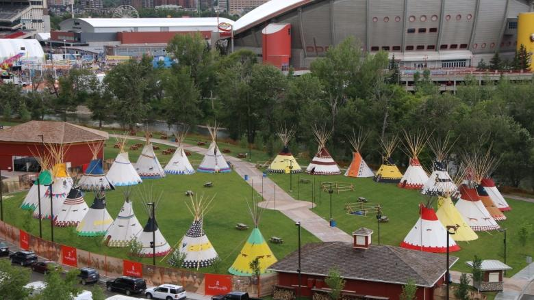 Calgary Stampede S Indian Village Renamed Elbow River Camp