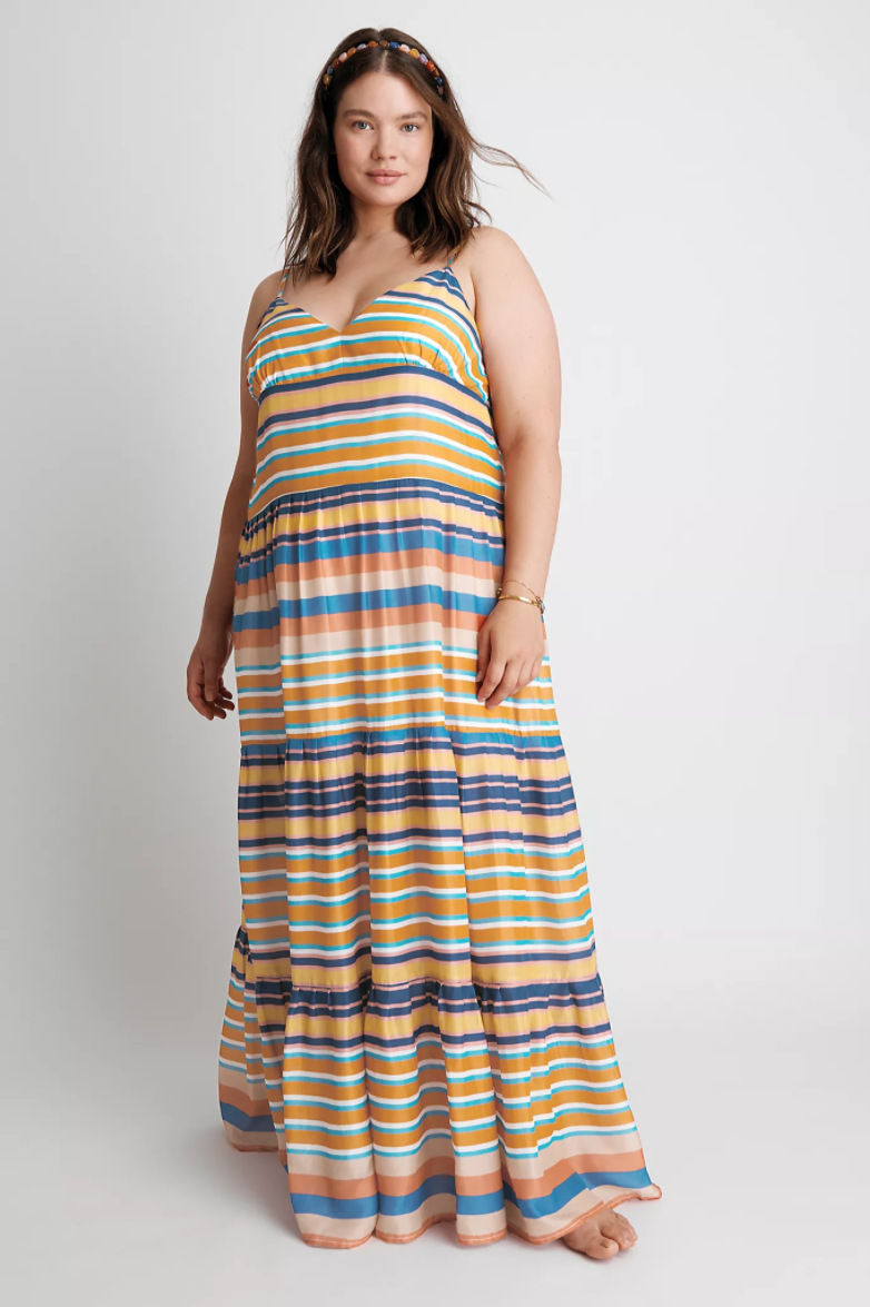 """<br> <br> <strong>Hope For Flowers by Tracy Reese</strong> Elysia Tiered Maxi Dress, $, available at <a href=""""https://go.skimresources.com/?id=30283X879131&url=https%3A%2F%2Fwww.anthropologie.com%2Fshop%2Felysia-tiered-maxi-dress"""" rel=""""nofollow noopener"""" target=""""_blank"""" data-ylk=""""slk:Anthropologie"""" class=""""link rapid-noclick-resp"""">Anthropologie</a>"""