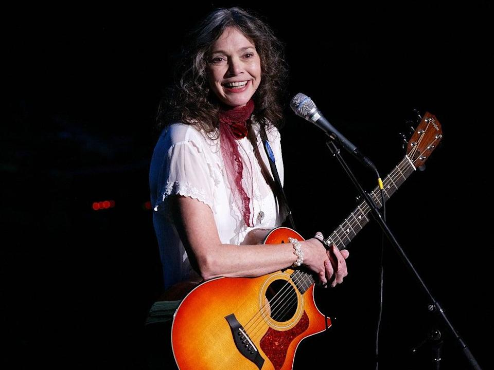 The musician called her sound 'folkabilly', a blend of country and folk  (Getty)