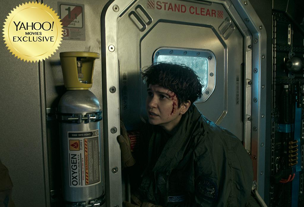 """<p><a rel=""""nofollow"""" href=""""https://www.yahoo.com/movies/tagged/ridley-scott"""">Ridley Scott</a> gets back to xenomorph-horror business with this second prequel to his 1979 sci-fi classic, which charts a crew of astronauts (including <a rel=""""nofollow"""" href=""""https://www.yahoo.com/movies/tagged/katherine-waterston"""">Katherine Waterston</a> and <a rel=""""nofollow"""" href=""""https://www.yahoo.com/movies/tagged/danny-mcbride"""">Danny McBride</a>) who discover a distant paradise that's also home to acid-blood-dripping monsters. 