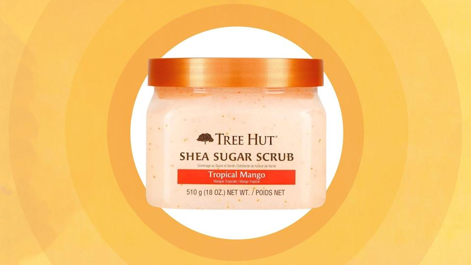 Tree Hut's Shea Sugar Scrub has gone viral on TikTok - and it's available to purchase on Amazon Canada.