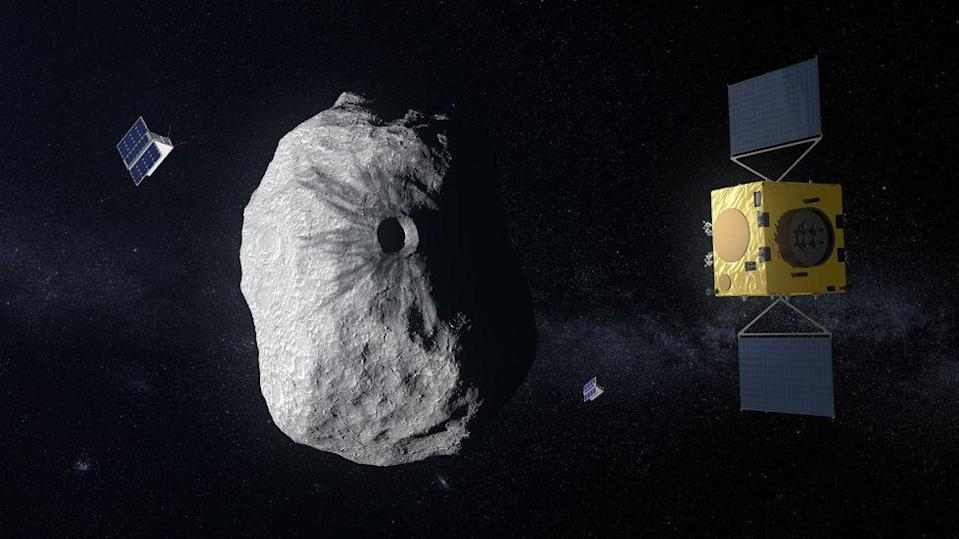 """<p>The European Space Agency (ESA) would like to have a method that detects """"risky"""" asteroids weeks before they get near Earth. The <a href=""""https://www.esa.int/Our_Activities/Space_Safety/Hera/ESA_s_Hera_asteroid_mission_borrows_eyes_of_NASA_s_Dawn"""" rel=""""nofollow noopener"""" target=""""_blank"""" data-ylk=""""slk:Hera"""" class=""""link rapid-noclick-resp"""">Hera</a> Mission is """"humankind's first visit to a binary asteroid system"""" with a launch date of 2023.</p>"""