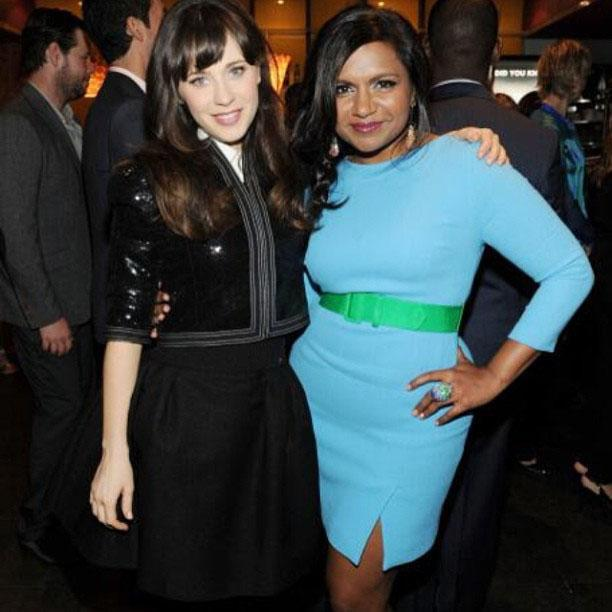 Upfronts 2013!!!! With miss Mindy Kaling!