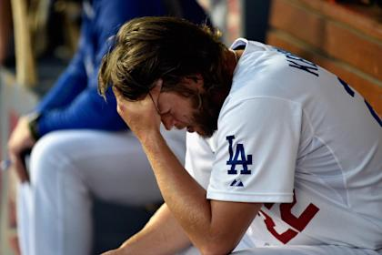Friday was definitely not Clayton Kershaw's day. (AFP)