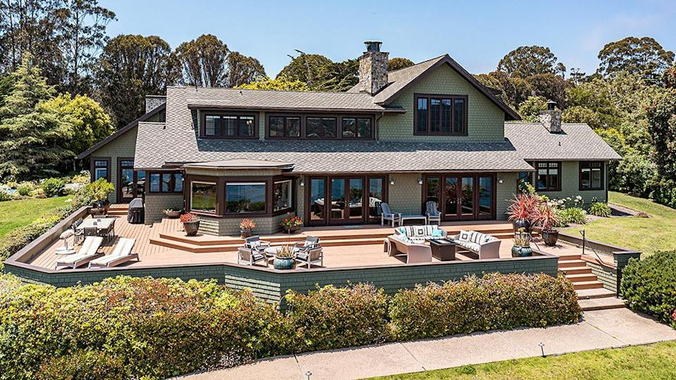The main house is built in a Cape Cod style. - Credit: Photo: Sherman Chu/Sotheby's International Realty