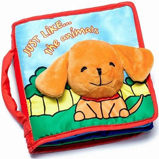 <p>Introduce your baby to the wonder of reading with a <span>Soft Book</span> ($13) that they won't rip to shreds.</p>