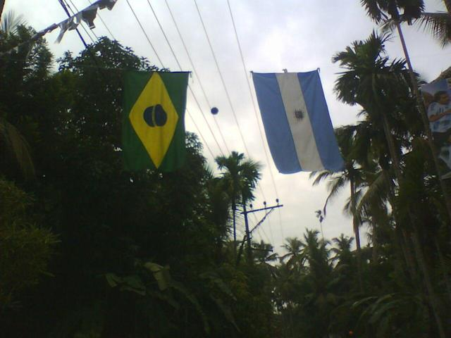 The football fever always spikes before the FIFA World Cup in the God's Own Country...
