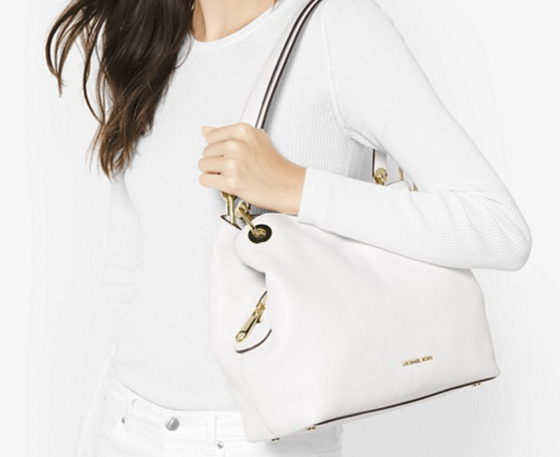 Raven Large Leather Shoulder Bag. (PHOTO: Michael Kors)