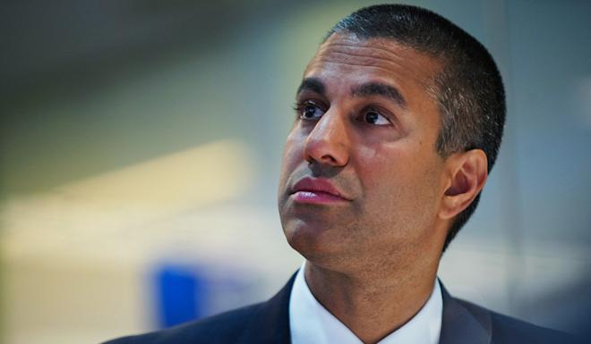"""Federal Communications Commission Ajit Pai has said the FCC """"cannot ignore the risk that the Chinese government will seek to exploit network vulnerabilities to engage in espionage, insert malware and viruses, and otherwise compromise our critical communications networks"""". Photo: Bloomberg"""