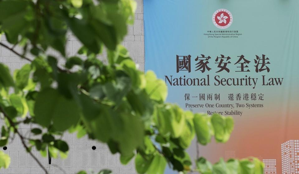 The national security legislation came into effect on June 30. Photo: Xinhua