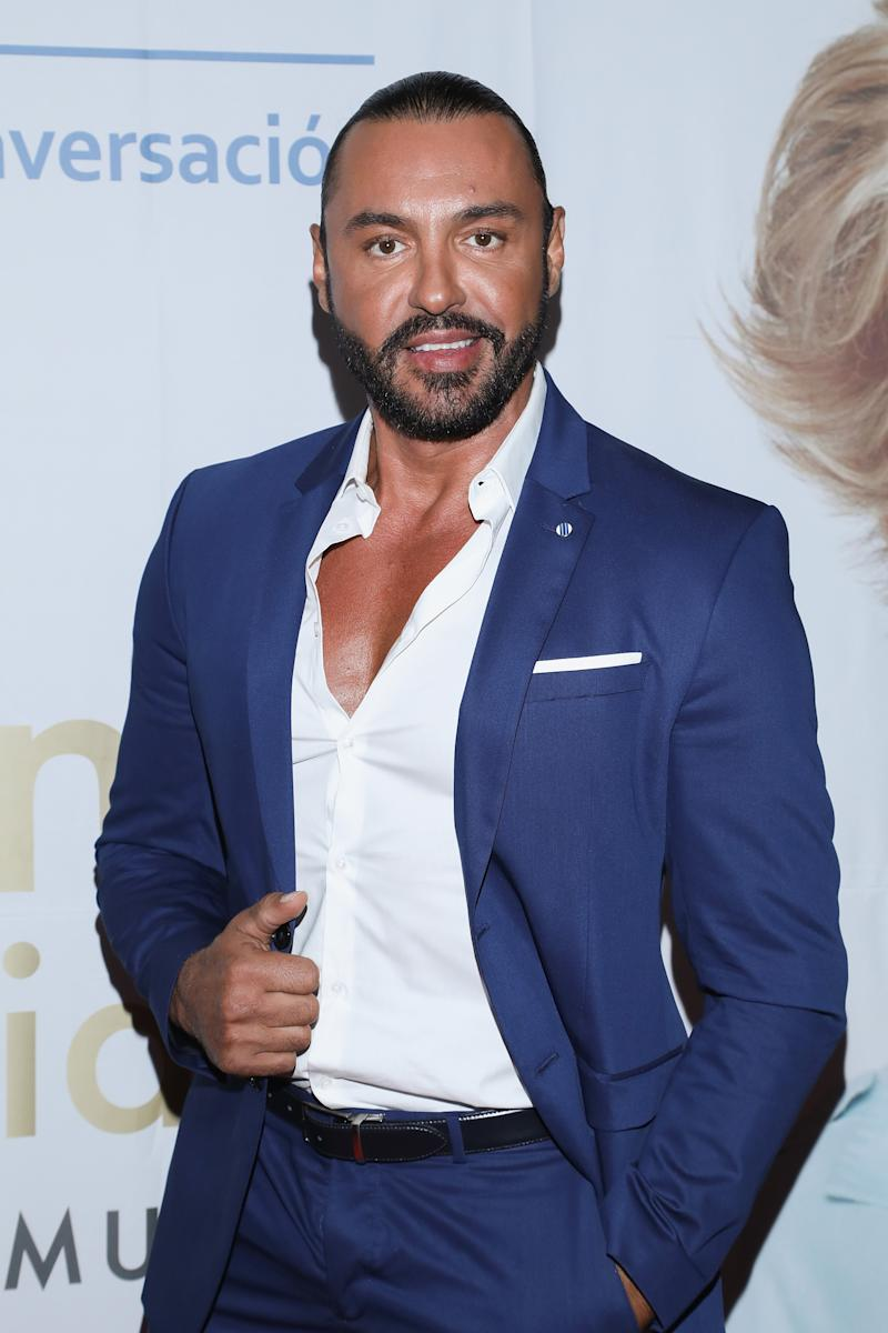 "MEXICO CITY, MEXICO - OCTOBER 16: Latin Lover attends the ""Todo Para La Mujer"" 30th Anniversary Red Carpet at Live Aqua hotel on October 16, 2019 in Mexico City, Mexico (Photo by Victor Chavez/Getty Images)"