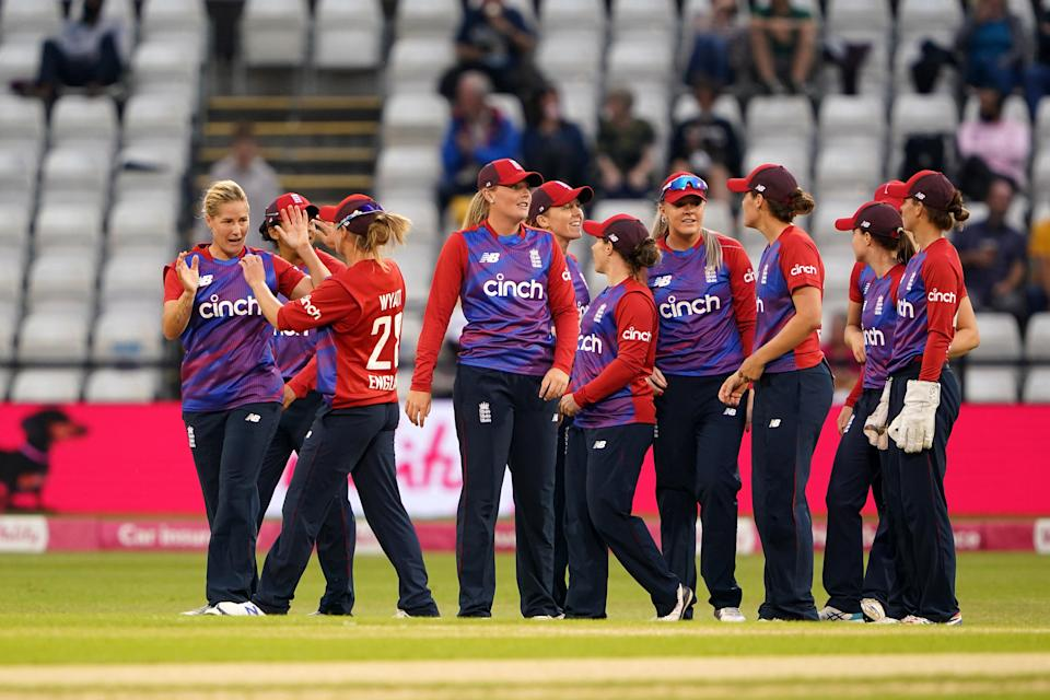 England claimed victory over India at Northampton (PA Wire)
