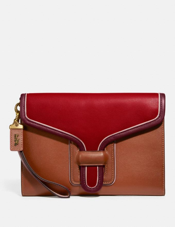 Courier Wristlet In Colorblock - Coach, $117 (originally $275)
