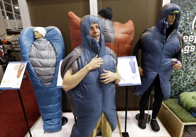 Outdoor-gear expo has luxury for people and dogs