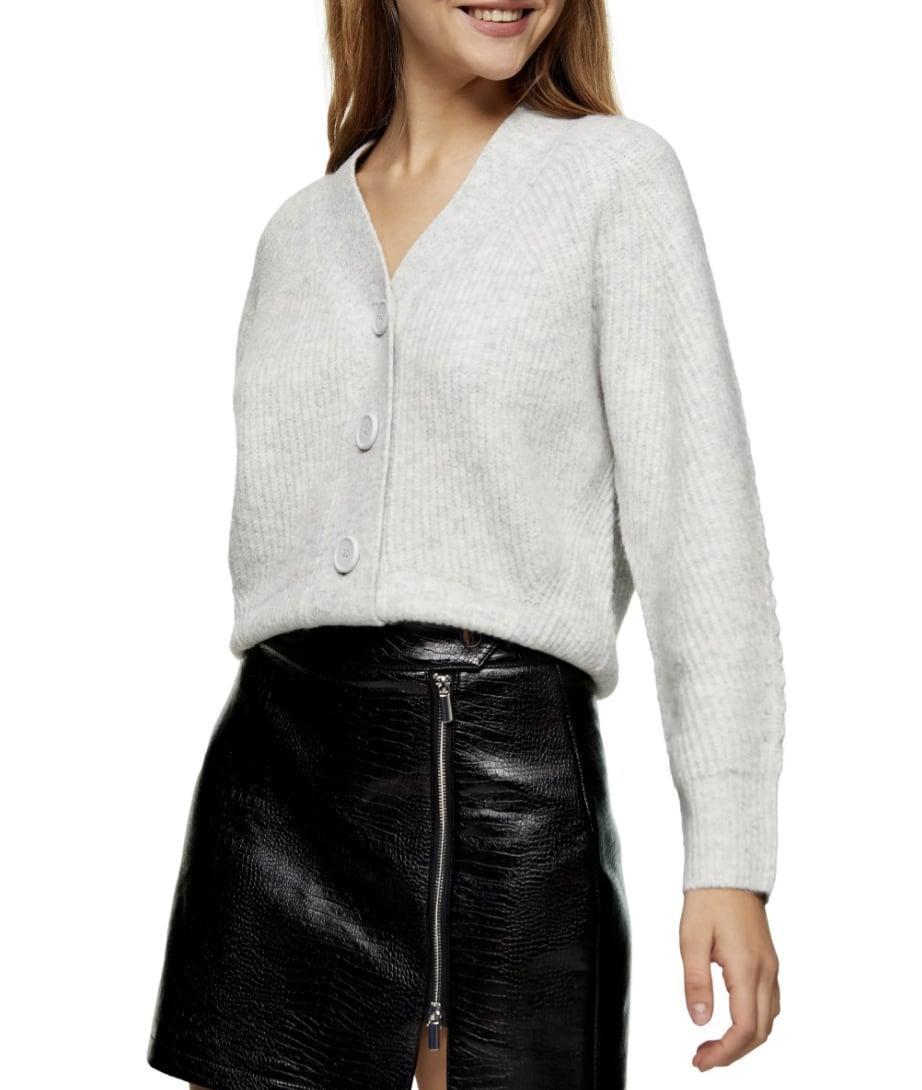 <p>This <span>Topshop Ribbed Cardigan</span> ($65) is a great basic to have.</p>