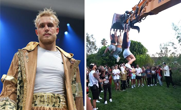 Jake Paul is one of several influencers who have been widely criticized for hosting and attending parties as LA's COVID-19 cases continue to spike.