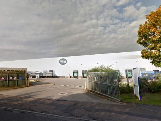 All 186 workers at Fyffes in Coventry will be tested (Google)