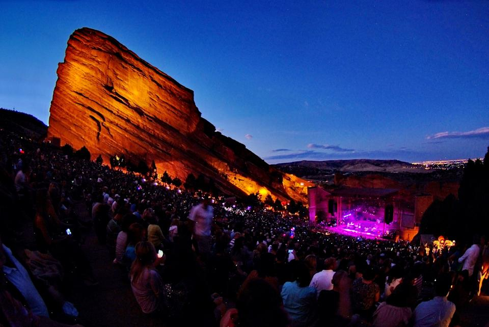 Music venues like Red Rocks Amphitheatre in Colorado are asking Congress for help in the next round of coronavirus relief.