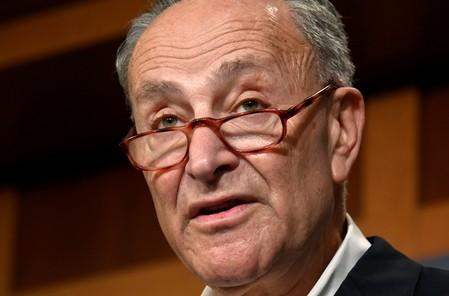 FILE PHOTO: Senate Minority Leader Schumer remarks on Midterm Election results