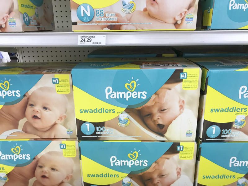 A number of nonprofits are giving out diapers during the government shutdown to families in need, but some can't keep up with demand. (ASSOCIATED PRESS)