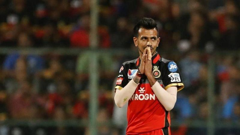 Chahal is the leading wicket-taker for RCB in the franchise's history