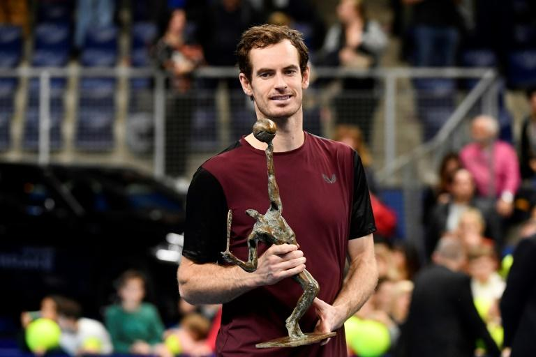Britain's Andy Murray Andy Murray's win in Antwerp sees him rise 116 places to 127 in the world
