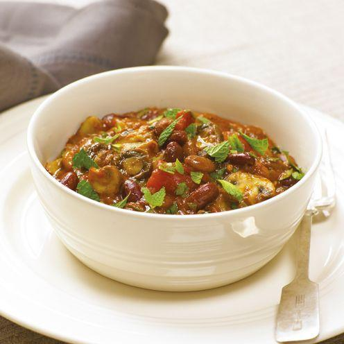 "<p>Try this tasty mushroom and bean hotpot with a bit of spice!</p><p><strong>Recipe: <a href=""https://www.goodhousekeeping.com/uk/food/recipes/a537053/slow-cooker-mushroom-and-bean-hotpot/"" rel=""nofollow noopener"" target=""_blank"" data-ylk=""slk:Slow Cooker Mushroom and Bean Hotpot"" class=""link rapid-noclick-resp"">Slow Cooker Mushroom and Bean Hotpot</a></strong></p>"