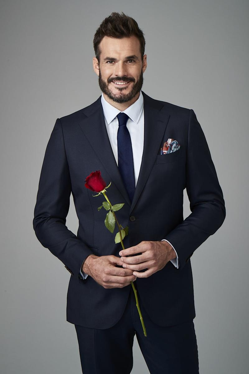 The Bachelor Australia 2020 Locklan Gilbert (Photo: Channel 10 )