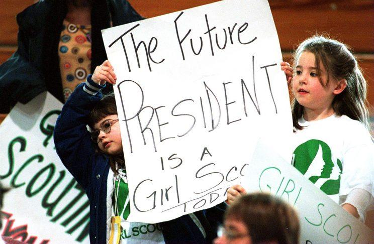 Not everyone is happy about the Girl Scouts' participation in this year's Inauguration Day Parade. (Photo: Getty Images)