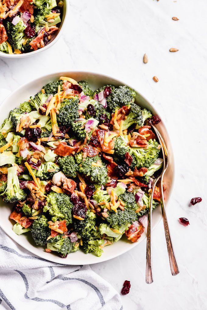 """<p>Instead of roasted or steamed broccoli, try eating it raw in this fresh broccoli salad. It's big on flavor and texture thanks to bits of salty bacon, sweet cranberries, and cheddar cheese.</p><p><strong>Get the recipe at <a href=""""https://www.garnishandglaze.com/broccoli-bacon-salad-recipe/"""" rel=""""nofollow noopener"""" target=""""_blank"""" data-ylk=""""slk:Garnish & Glaze"""" class=""""link rapid-noclick-resp"""">Garnish & Glaze</a>. </strong></p><p><a class=""""link rapid-noclick-resp"""" href=""""https://go.redirectingat.com?id=74968X1596630&url=https%3A%2F%2Fwww.walmart.com%2Fsearch%2F%3Fquery%3Dcheese%2Bgraters&sref=https%3A%2F%2Fwww.thepioneerwoman.com%2Ffood-cooking%2Fmeals-menus%2Fg36806222%2Ffall-salad-recipes%2F"""" rel=""""nofollow noopener"""" target=""""_blank"""" data-ylk=""""slk:SHOP CHEESE GRATERS"""">SHOP CHEESE GRATERS</a></p>"""