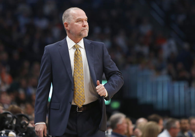 Nuggets head coach Michael Malone signed a contract extension on Tuesday. Mandatory Credit: Russell Lansford-USA TODAY Sports