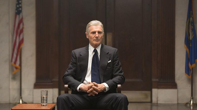 See Liam Neeson As Deep Throat, 'The Man Who Brought Down The White House'