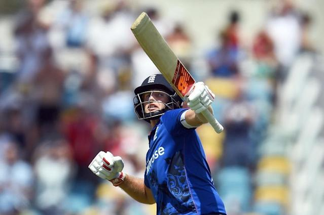 """England's Joe Root, pictured on March 9, 2017, are being asked to play """"exciting cricket for future generations"""" (AFP Photo/Jewel SAMAD)"""