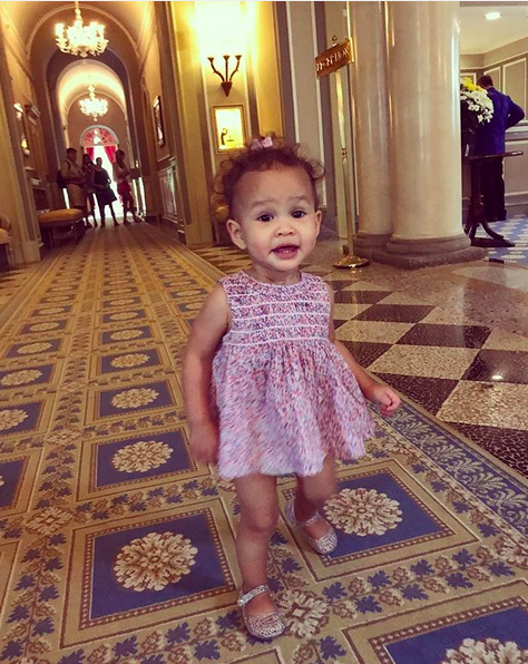 "<p>It's all about the shoes! Little Luna looked precious in her purple ensemble, which was topped off by her sparkly footwear. ""J<span>ellies forever,"" captioned her adoring mom. (Photo: <a href=""https://www.instagram.com/p/BXPb1QzFubD/?taken-by=chrissyteigen"" rel=""nofollow noopener"" target=""_blank"" data-ylk=""slk:Chrissy Teigen via Instagram"" class=""link rapid-noclick-resp"">Chrissy Teigen via Instagram</a>)</span><br></p>"