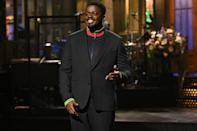 <p>Daniel Kaluuya made his hosting debut on <em>Saturday Night Live</em> in New York City.</p>