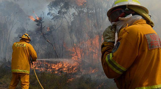 There's a total fire ban in place for most of NSW. Source: AAP
