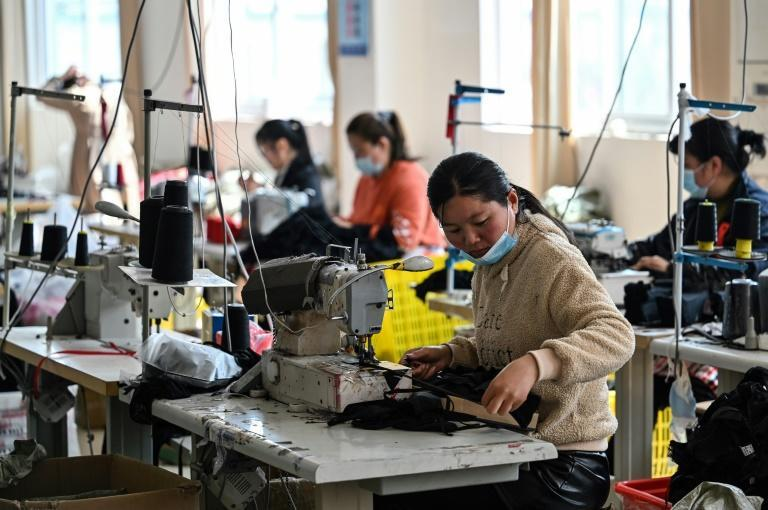 Lingerie has transformed Guanyun, with factories sprouting up next to wheat fields