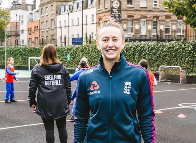 England cricketer Fran Wilson was speaking at a TeamUp event in Marylebone, London