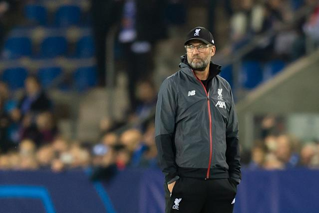 Jurgen Klopp wasn't particularly impressed by the fixture pile-up. (Photo by TF-Images/Getty Images)